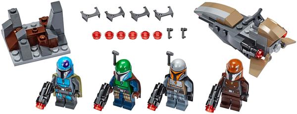 百亿补贴:LEGO 乐高 星球大战系列 75267 曼达洛人战斗套装