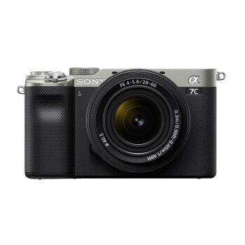 SONY 索尼 Alpha系列 Alpha 7C 微单相机 单头套机 28-60mm 银色
