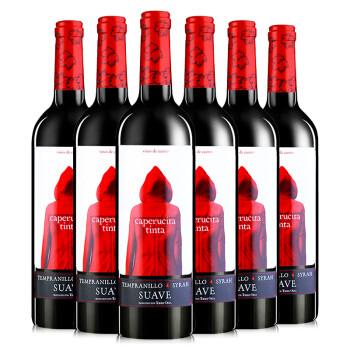 88VIP:奥兰小红帽 干红葡萄酒 750ml*6瓶
