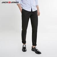 JACK JONES 杰克琼斯 219114570 男士商务百搭修身休闲裤