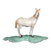 陈灵平 Q版雕塑系列 装饰品陶瓷摆件 可爱礼品生日礼物 回眸