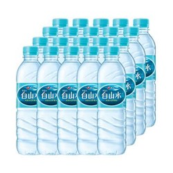 农心  长白山天然偏硅酸矿泉水  500ml*20瓶  *7件
