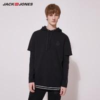JackJones 杰克琼斯 220102505 皇马联名款假两件卫衣