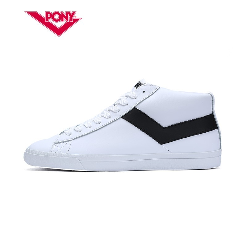 PONY 波尼 71M1TS02RW 情侣高帮运动鞋