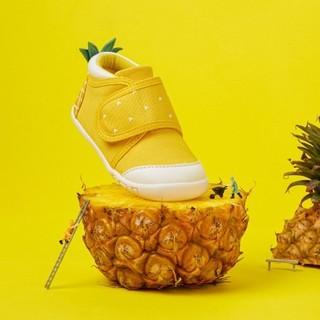 Balabala 巴拉巴拉 婴童魔术贴学步鞋 中黄