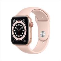 限上海、北京:Apple 苹果 Watch Series 6 智能手表 GPS+蜂窝款 44mm 粉砂色