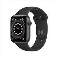 Apple 苹果 Watch Series 6 智能手表 GPS款 44mm 黑色