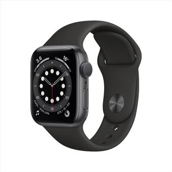 Apple 苹果 Watch Series 6 智能手表 GPS款 40mm 黑色
