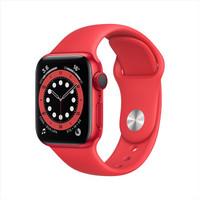 仅北京:Apple 苹果 Watch Series 6 智能手表 GPS+蜂窝款 40mm 红色