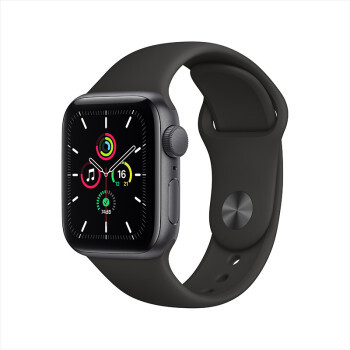 Apple Watch SE智能手表 Nike GPS款 铝金属表壳 运动表带