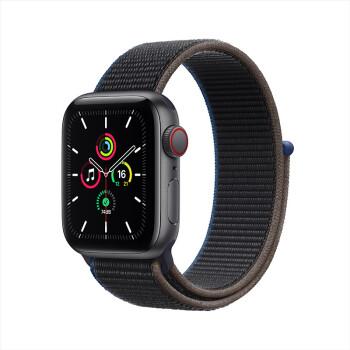 Apple 苹果 Watch SE 智能手表 GPS+蜂窝款 40mm 木炭色