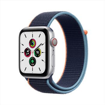 Apple  Watch SE 智能手表 GPS+蜂窝款 44mm 深海军蓝色