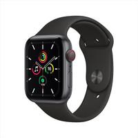 Apple 苹果 Watch SE 智能手表 GPS+蜂窝款 44mm 黑色
