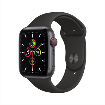 百亿补贴:Apple 苹果 Watch SE 智能手表 GPS+蜂窝款 44mm 黑色