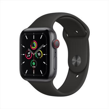 Apple 苹果 Watch SE 智能手表 GPS+蜂窝款 40mm 黑色