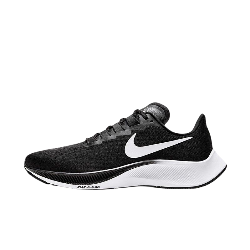 NIKE 耐克 AIR ZOOM PEGASUS 37 女士跑鞋 BQ9647-002 黑白