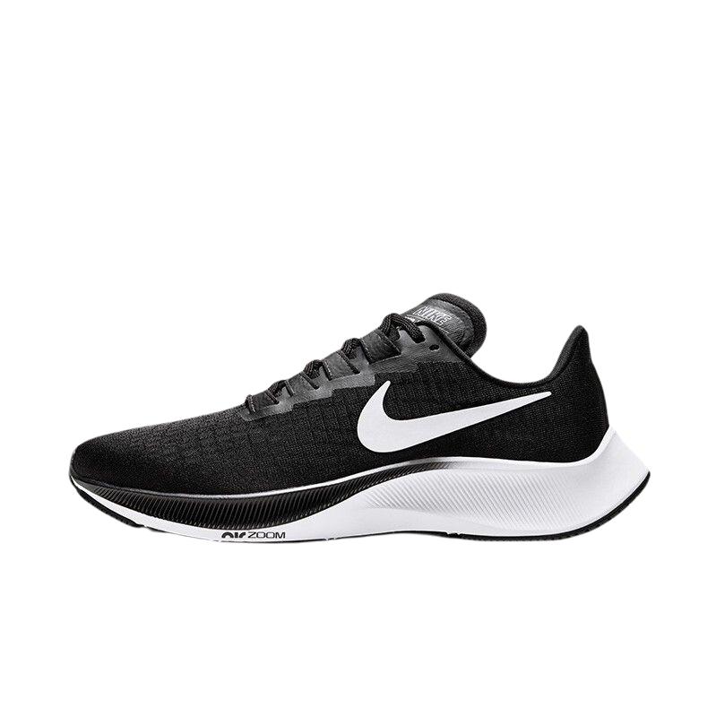 NIKE 耐克 AIR ZOOM PEGASUS 37 女士跑鞋 BQ9647-002 黑白 38
