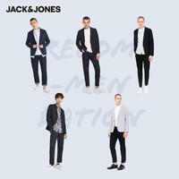 JACK JONES 杰克琼斯 218108502 男士连帽西服