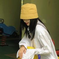 画蔻 BN2241 工业风水桶帆布渔夫帽