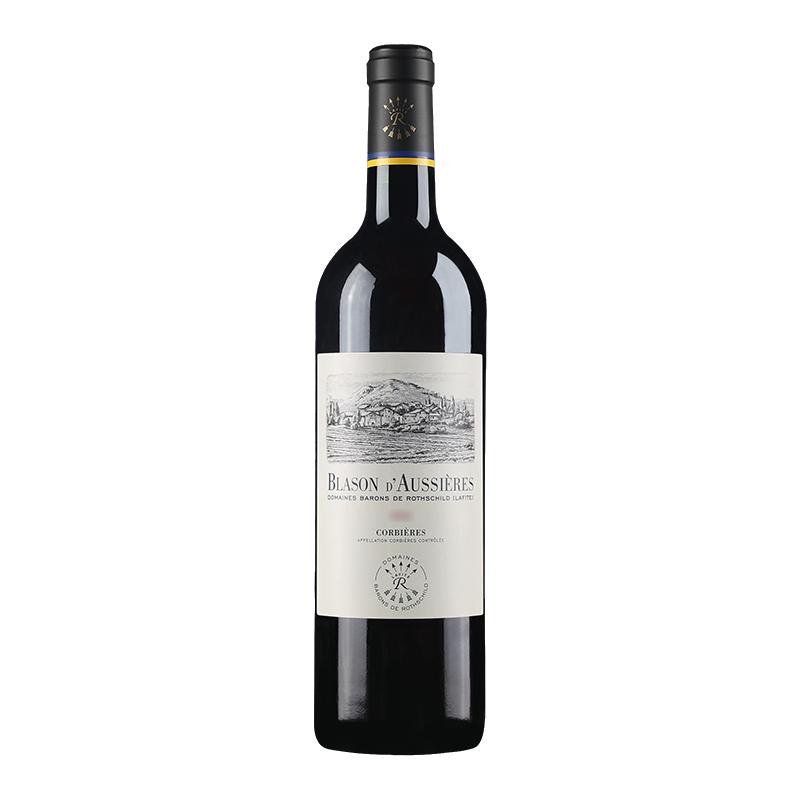 拉菲 奥希耶徽纹AOC干红葡萄酒 750ml*2瓶