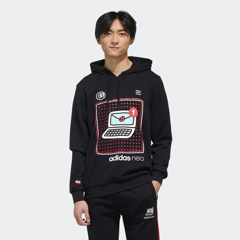 adidas 阿迪达斯 neo M VLDAY HDY FU0222 男装运动套头衫