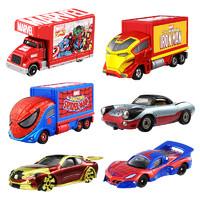 TAKARA TOMY 多美  漫威系列 卡漫威合金小汽卡车模型 多款可选 *9件