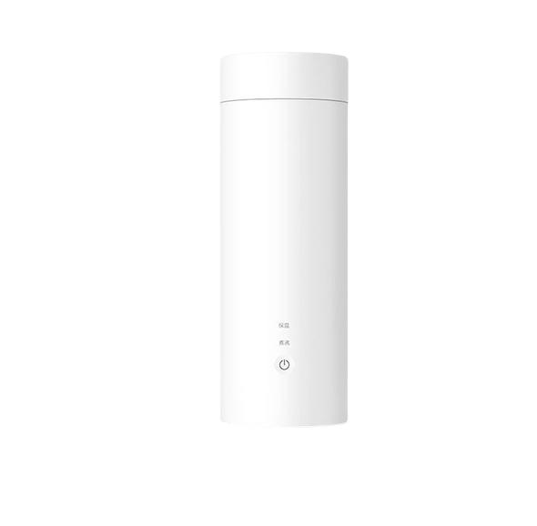 MI 小米 YM-K0401 不锈钢电热水杯 400ml 白色