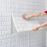 墙纸自粘墙纸墙贴3d卧室装饰房间布置背景墙面壁纸砖防水防潮贴纸