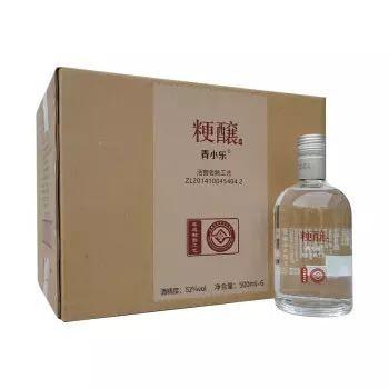 京东PLUS会员: 青小乐 粳醸精酿纯粮浓香型白酒 42度 500ml*6瓶