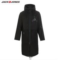 JackJones 杰克琼斯 219121549 男士纯棉长款风衣