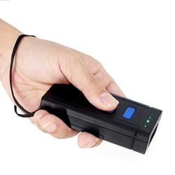 敏捷MJ-2877蓝牙二维码一维扫描器快递单条码扫码枪申通快递员无线巴枪圆通行者掌中通有线把枪超市收银专用