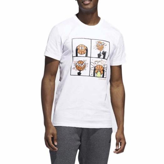 ADIDAS 阿迪达斯  DU6858 男子篮球系列运动T恤