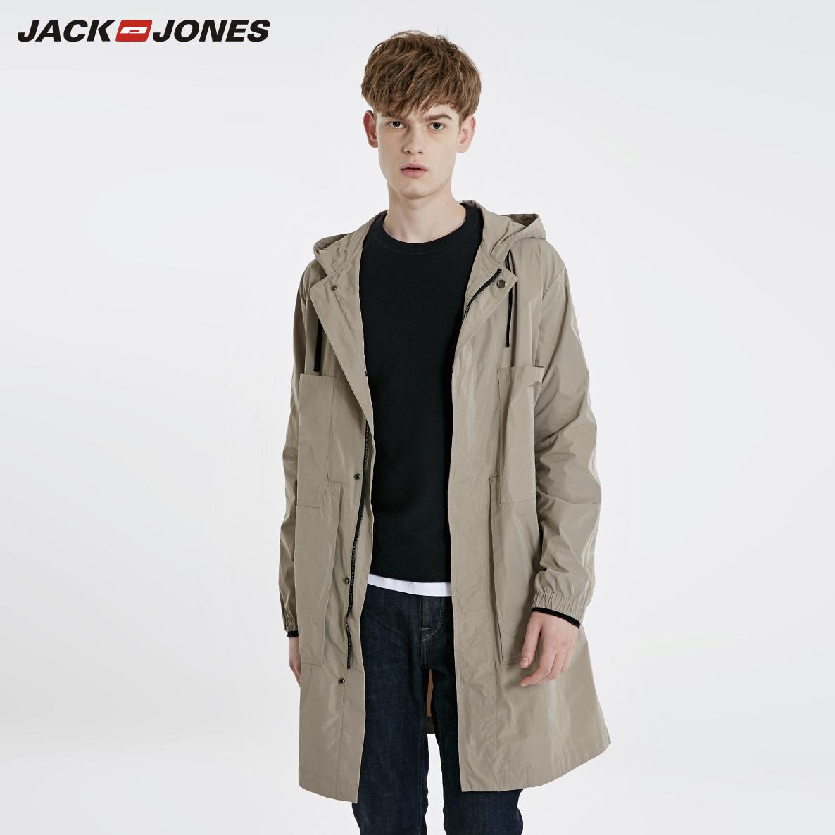 JACK JONES 杰克琼斯 219121501 男士连帽风衣