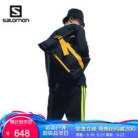 【20秋季尚新】萨洛蒙(Salomon)男女款 户外运动休闲时尚双肩背包 BP 28 黑色 C20214002
