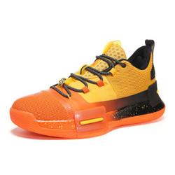 匹克闪现态极篮球鞋男鞋路威官方耐磨防滑男实战运动球鞋男 橙黄色 42