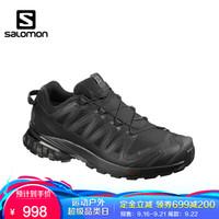 萨洛蒙(Salomon)男款户外防水登山鞋徒步鞋 XA PRO 3D v8 GTX 黑色 409889 UK8(42)