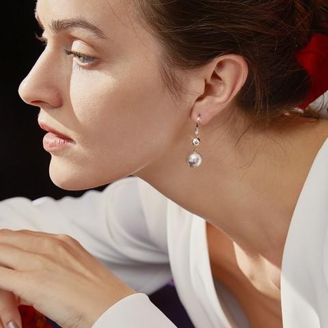 Agovski 蔻斯琦 M190037 珍珠耳环