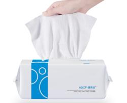 康帛纺 一次性抽取式洗脸巾 50抽15*20