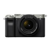 SONY 索尼 Alpha系列 Alpha 7C 微单相机 单机身 银色