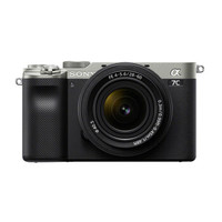 SONY 索尼 Alpha 7C 全画幅微单数码相机 单机身 银色