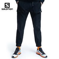 【20秋季尚新】萨洛蒙(Salomon)男款户外舒适休闲防泼水长裤 BIG POC PANT M 黑色 208016 M