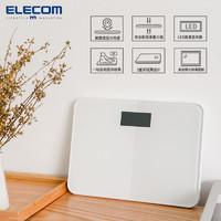 ELECOM家用体重秤运动减肥电子秤人体秤重精准智能体重计人体称女