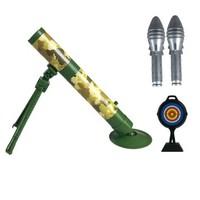 砺能  灯光迫击炮玩具   (主体+闪光炮*2+带标靶平底锅)