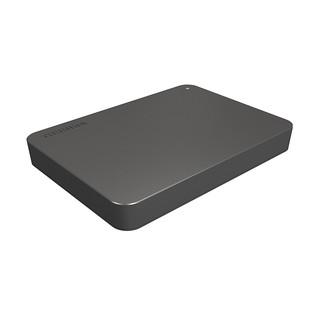 TOSHIBA 东芝 新小黑A3 USB3.0 移动硬盘 4TB 商务黑