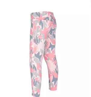 DECATHLON 迪卡侬 女童体能紧身裤 303780 灰粉色/粉红色 73-75cm