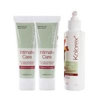 Kolorex 女性私處護理膏 50g*2+私處洗護液 250ml