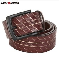JackJones 杰克琼斯 21835O517 男士简约雕花腰带