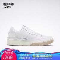 Reebok锐步 运动经典DUAL COURT男女低帮休闲鞋HJ400 EG6022_白色 42