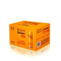 TSINGTAO 青岛啤酒  皮尔森啤酒 酒精度≥4 500ML*12罐 *2件