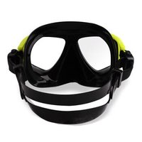 WaterTime蛙咚 潜水镜浮潜三宝潜水浮潜套装成人全干式呼吸管装备潜水眼镜 黄黑色 *2件